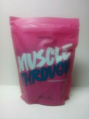 New/Sealed Perfectly Posh Muscle Through Salts Bath Retired & HTF Free Shipping!