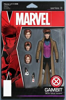 House Of X #6 (Of 6) Christopher Action Figure Variant Marvel Comics 10 2 2019