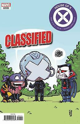 House Of X #6 (Of 6) Skottie Young Variant Marvel Comics 10 2 2019