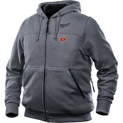 Milwaukee 302G-20L M12 Heated Hoodie Only L, Gray