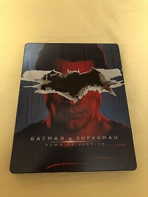 Batman V Superman Esclusiva MediaWorld FUORI CATALOGO Blu Ray Steelbook