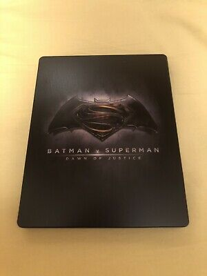 Batman V Superman Esclusiva Amazon Blu Ray Steelbook