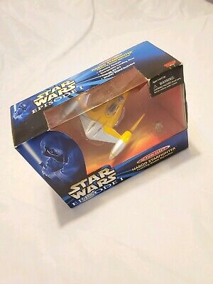 Naboo Starfighter-Star Wars Phantom Menace Micro Machines Action Fleet MIB