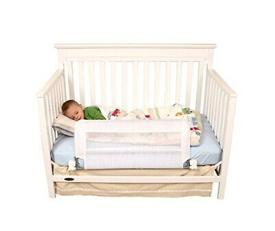 Regalo Swing Down Extra Long Convertible Crib Toddler Bed Rail Guard