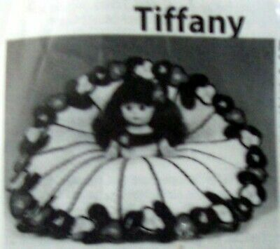 """Pillow Doll with Crochet Instructions Included for """"Tiffany"""" dress. NEW"""
