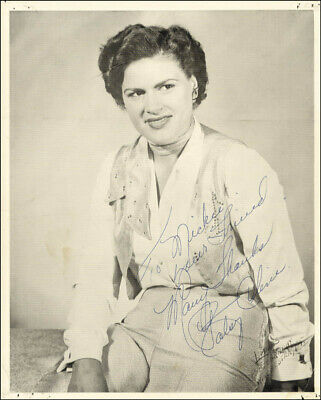 Patsy Cline - Autographed Inscribed Photograph