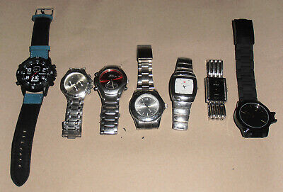 Job lot #3 of 7 Gents Watches. See description for contents