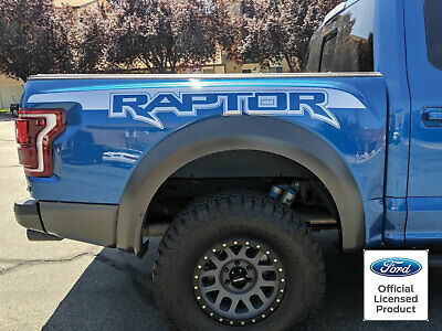 2017-2019 Ford Raptor Factory Style Bed Graphics Vinyl Decals Stickers Set 2018