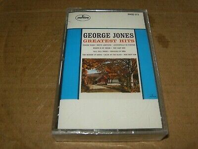 George Jones Greatest Hits Cassette,Brand New,Canada.