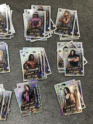 Topps WWE Slam Attax Universe Hall Of Fame Cards - 3 For £1 - Complete Your Set!
