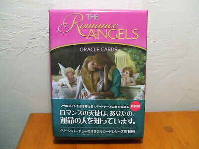 New The Romance Angels Oracle Cards Guidebook by Doreen Virtue Japanese Japan