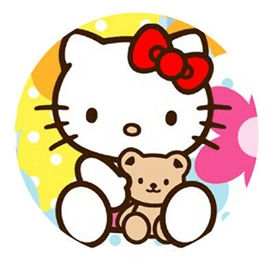 Hello Kitty Motiv  4 Button