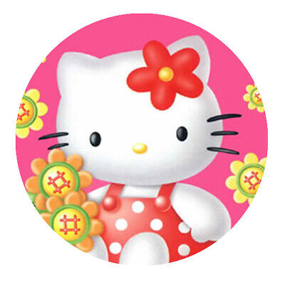 Hello Kitty Motiv  3 Button