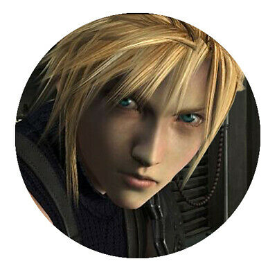 Final Fantasy 7 Motiv 1 Button
