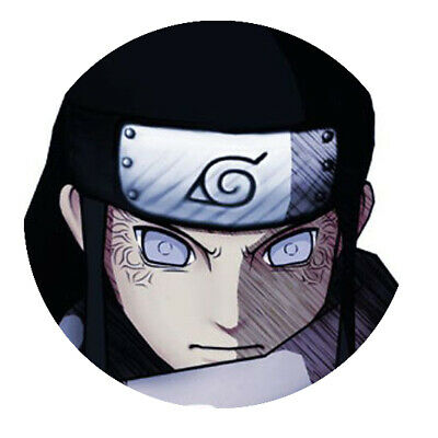 "Naruto ""Neji"" Button"