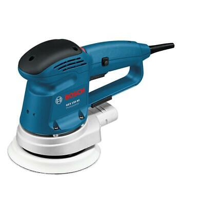 Bosch Orbitale Levigatrice Gex 150 AC in Cartone, 150mm Platorello, 340 Watt