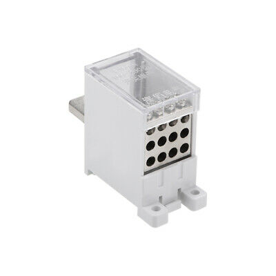 1 In 12 Out DIN Rail Terminal Blocks 250A Max Input Distribution Block