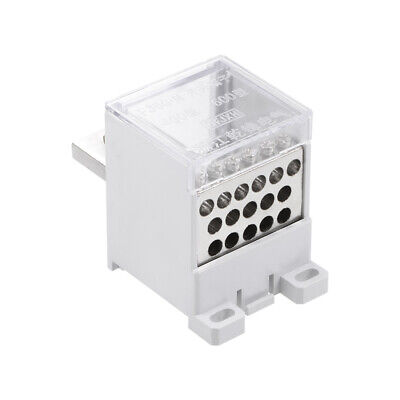1 In 16 Out DIN Rail Terminal Blocks 400A Distribution Block for Circuit Breaker