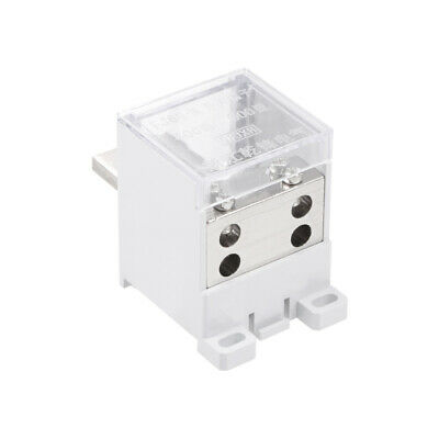 1 In 4 Out DIN Rail Terminal Blocks 400A Distribution Block for Circuit Breaker