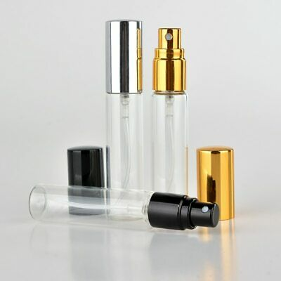 Wholesale 100 Pieces/Lot 5ml 10ml Portable Glass Refillable Perfume Bottle With