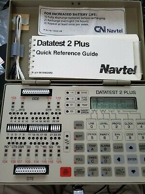 NAVTEL DATATEST 2 Plus with case and manual - $89 95 | PicClick