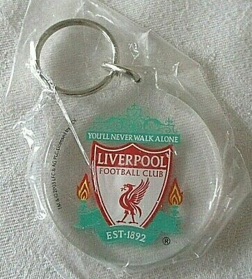Liverpool Clear Keyring Club Crest - Great Gift Idea!
