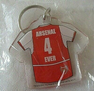 Arsenal 4 Ever Clear Keyring - Great Gift Idea!