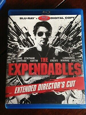 The Expendables (Blu-ray Disc, 2011, Extended Directors Cut