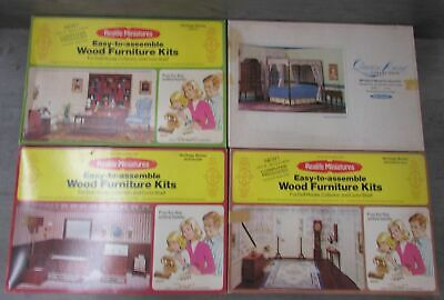 FURNITURE FOR DOLLS LIBRARY Dollhouse Miniature Scale 1:12