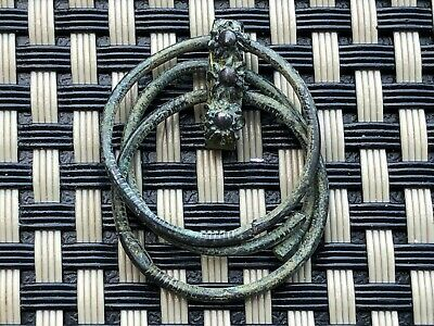Ancient Greek / Roman Bronze Earring Circa 100 Bc -200 Ad Very Rare
