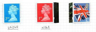 STAR WARS Single M15L MPIL Machins and Flag Stamps from PSB DY15 2015