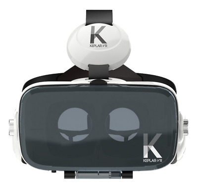 Keplar Immersion VR Headset Goggles With Built In Headphones Android Smartphone