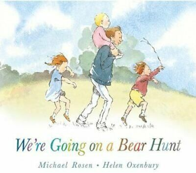 We're Going on a Bear Hunt by Michael Rosen 9781406363074 | Brand New