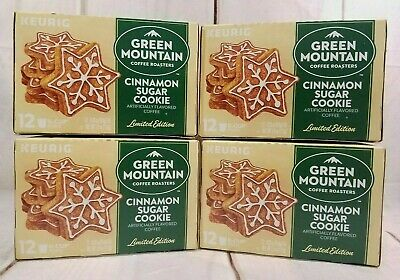 Keurig K Cup Pack 18 Count Green Mountain Coffee Cinnamon Sugar Cookie Coffee