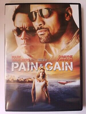 Pain & Gain, 2013, R-Rated, Action Comedy Crime, DVD Movie, Like New
