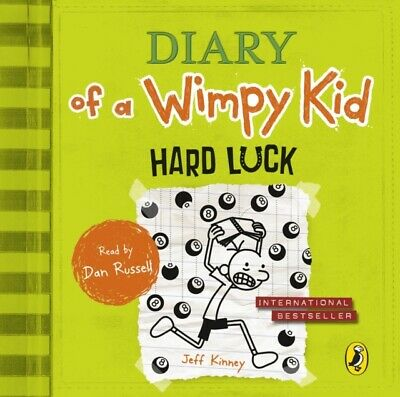 Russell, Dan : Hard Luck (Diary of a Wimpy Kid book 8) CD FREE Shipping, Save £s