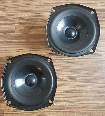 Matched Pair KEF B110 SP1057 Mid/Bass Drivers (1985)