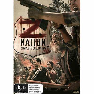 Z Nation: Seasons 1-5 DVD NEW (Region 4 Australia)