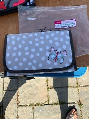 Thirty One Fold And Go Organizer With Notepad Lotsa Dots & Butterfly