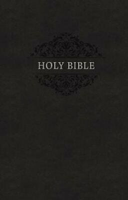 KJV, Holy Bible, Soft Touch Edition, Leathersoft, Black, Comfor... 9780785219439
