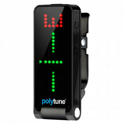 TC Electronic Polytune Polyphonic Clip-On Tuner Black