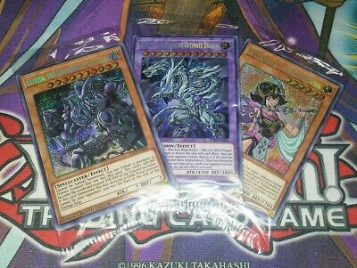 3x 2019 GOLD SARCOPHAGUS MEGA TIN PROMOS NIBIRU SHIFTER DARK RULER TN19 - YUGIOH
