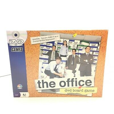 NEW The Office DVD Board Game NBC 2008 Trivia DVD SEALED BOX IS MINT