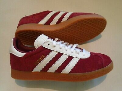 ADIDAS GAZELLE ORIGINALS Burgundy Mens Womens Junior Bz0030