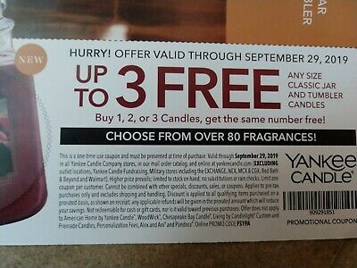 ANY FOUR COUPON Macy's Yankee Candle Bolton's King Kullen