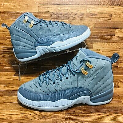 official photos e4a8b 3964f NIKE AIR JORDAN 12 (Youth Size 6Y) Basketball Sneaker Shoes Gray