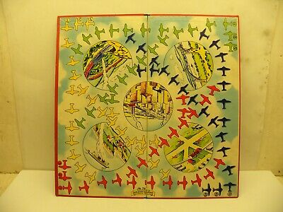Vintage 1940s Flying Aces Game Board Only (#72 by Selcrow & Righter In N.Y., NY)