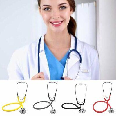 Doctor Nurses Dual Head EMT Clinical Stethoscope Medical Auscultation Device Br