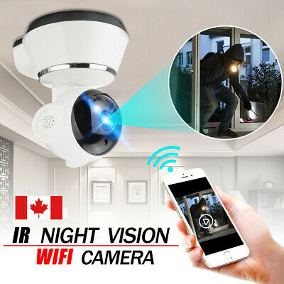 HD Wireless WIFI IP CCTV Camera Smart Home Security Night Vision Indoor Cam CA