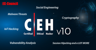 Certified Ethical Hacker CEH V 10 - VIDEO COURSE - 35 GB file